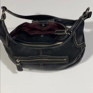 Coach Bags - Coach Purse Black Shoulder Bag Zipper Pockets